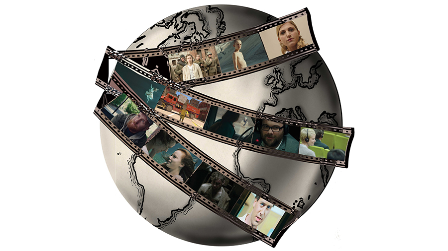 Globe & Film Strips Resized Web Listing